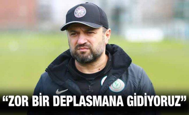 Uygun'dan Galatasaray Maçı Açıklaması: Puanla Dönmek İstiyoruz