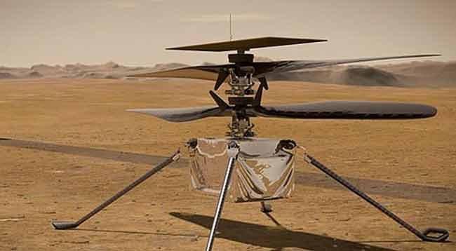 Mars'taki İlk Helikopter Uçuşu Ertelendi