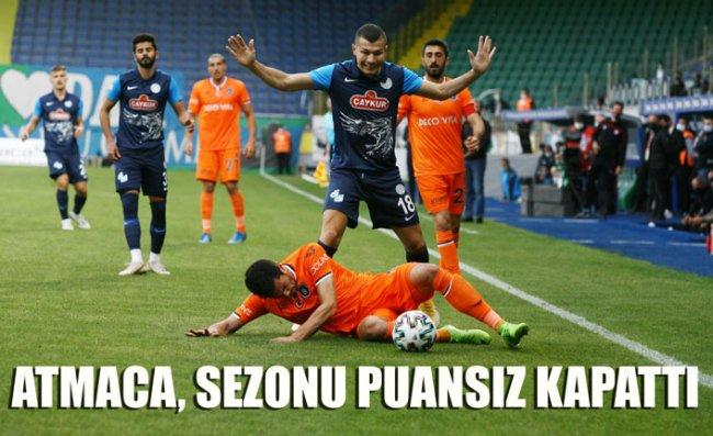 Çaykur Rizespor Sezonun Son Maçında Başakşehir'e Mağlup Oldu