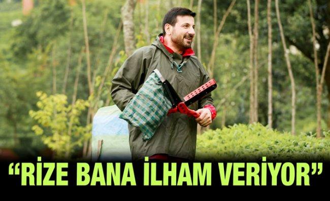 Davut Güloğlu Köyünde Çay Toplayıp, Stres Atıyor