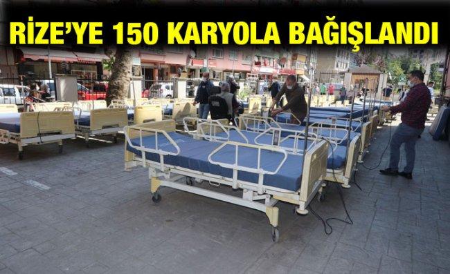 İstanbul'dan Rize'ye 'Karyola' Bağışı