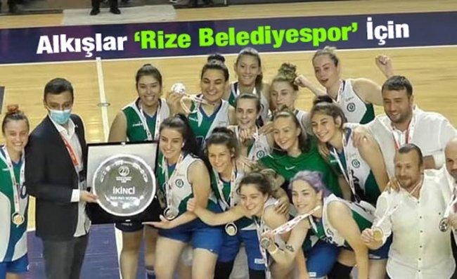 Rize Belediyespor, Kadınlar Basketbol Ligi'ne Yükseldi