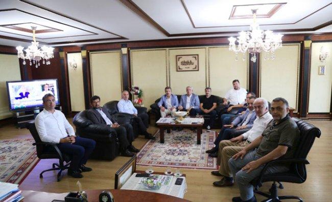 RİDEVA'dan Başkan Metin'e Ziyaret