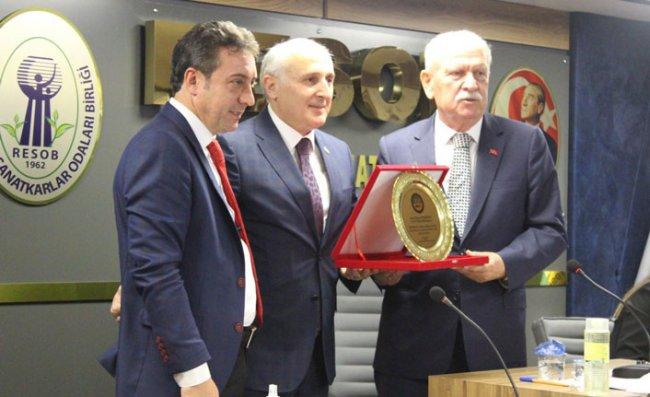 Bölge Birliği Başkanı Aksoy, Güven Tazeledi