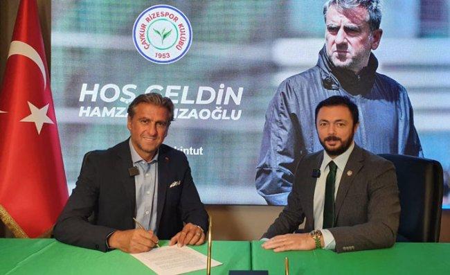 Çaykur Rizespor, Hamza Hamzaoğlu ile Sözleşme İmzaladı