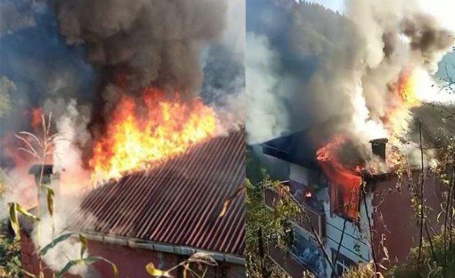 Çamlıhemşin'de Ev Yangını: 1 Ölü