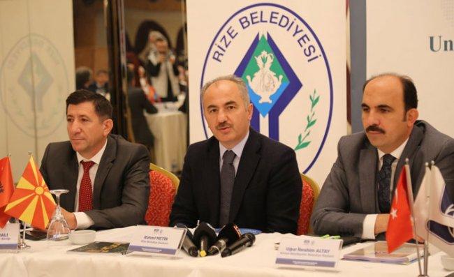 Rize, TDBB Yönetim Kurulu Toplantısına Ev Sahipliği Yaptı
