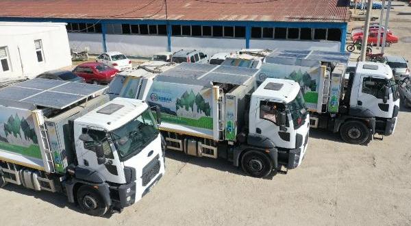 Çevreci Hibrit Çöp Kamyonlarıyla Yakıt Tasarrufu