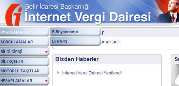 İnternet vergi dairesi yoğunluktan kilitlendi