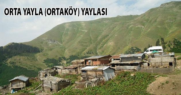 Orta Yayla (Ortaköy) Yaylası