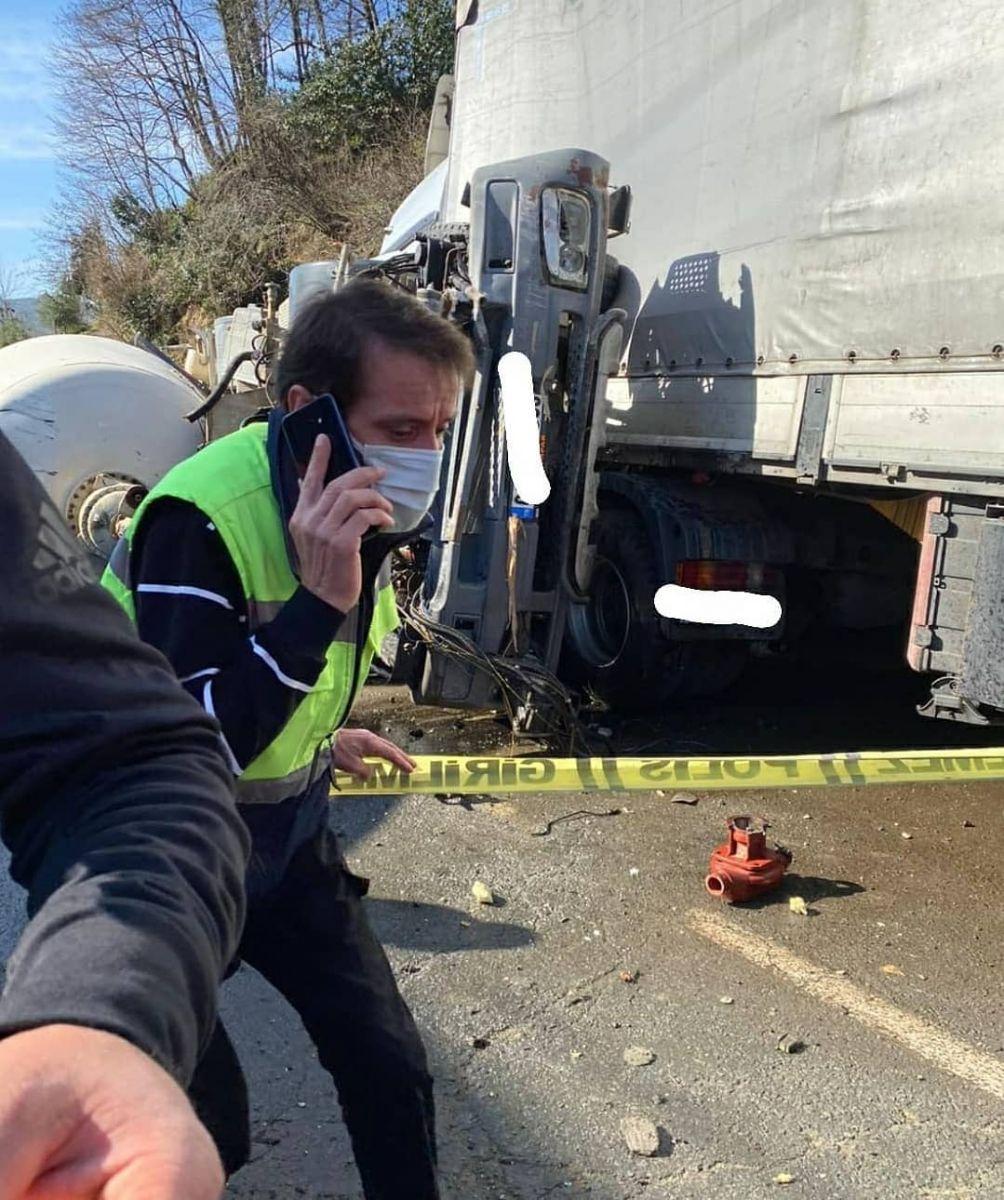 Salarha Yolunda Feci Kaza! 1 kişi öldü, 1 Kişi de Yaralandı