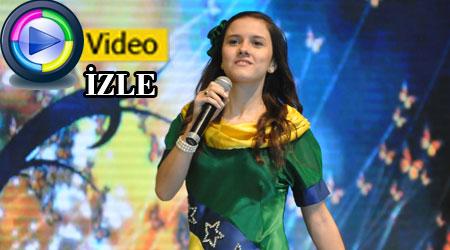 Türkçe Olimpiyatları-Brezilya-Hayde Gidelum