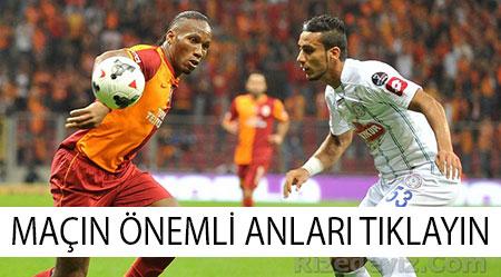 Galatasaray 1 - 1 Rizespor