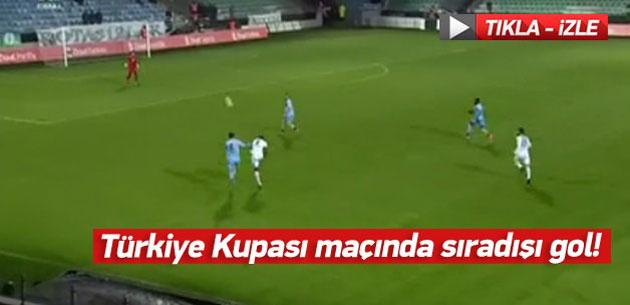 Kweuke`den sıradışı bir gol