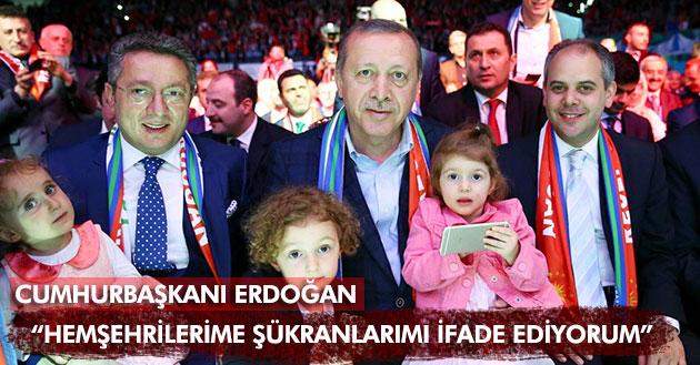 İstanbul`da Recep Tayyip Erdoğan`ın Rizelilerle Buluşması