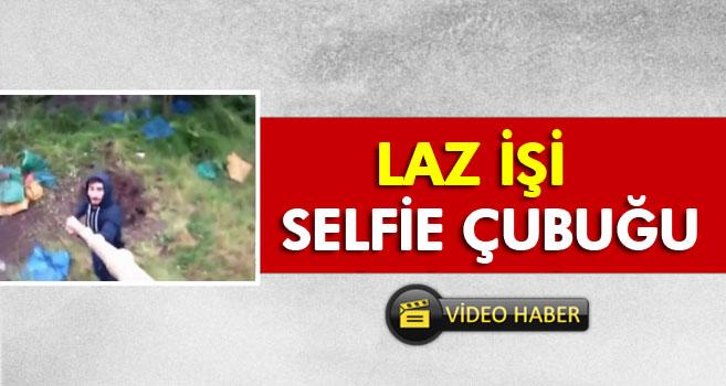 Karadenizli Genç 4 Metrelik Selfie Çubuğu Yaptı
