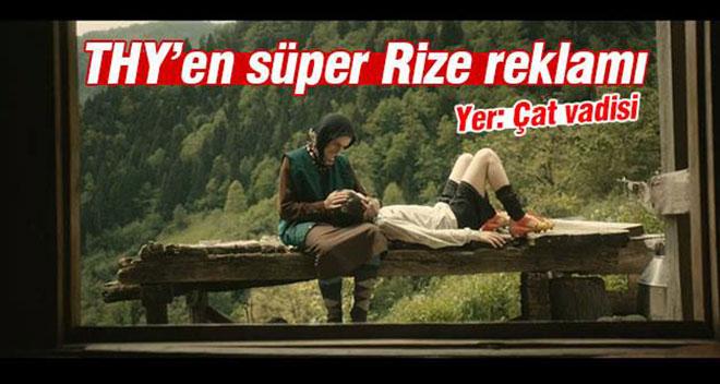 THY`nin Karadeniz`de Çektiği Reklam Filmi Çok Konuşulacak