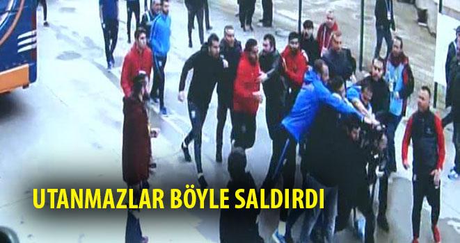 Başakşehirli Futbolcular Gazeteciyi Darp Etti