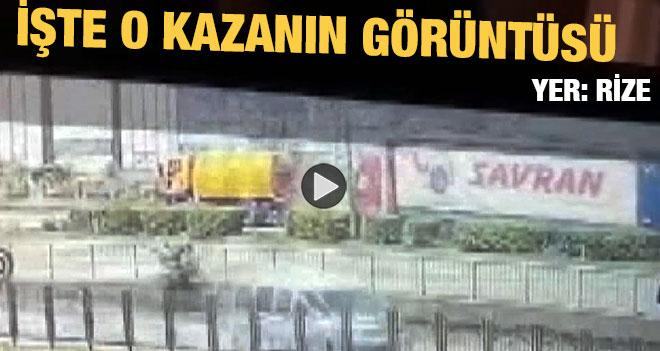 Rize`deki Kazanın Görüntüsü Ortaya Çıktı