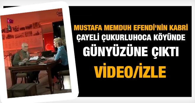 Mustafa Memduh Efendi`nin Kabri Çayeli Çukurluhoca Köyünde Günyüzüne Çıktı