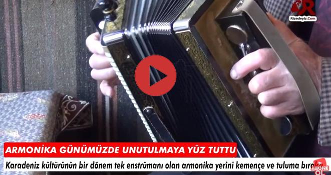 Armonika (Mozika) Unutulmaya Yüz Tuttu