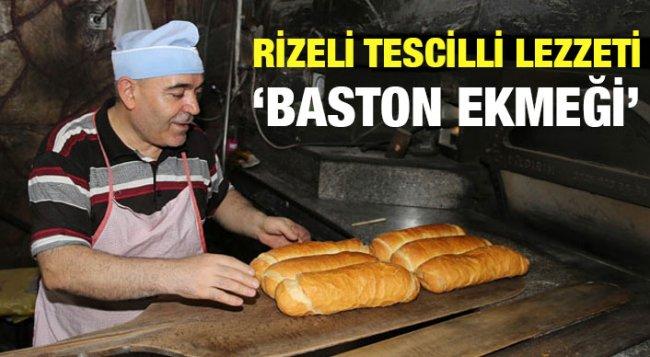 Rize Baston Ekmeği'nin Yapılışı