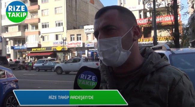 Siz pandemi kurulunun başında olsaydınız ne tür önlemler alırdınız - Sokak Röportajı Ardeşen - Rize