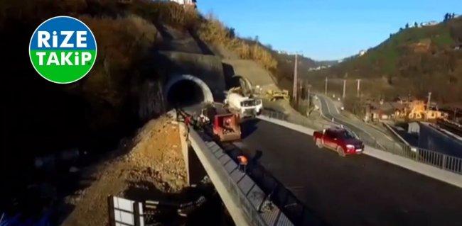 Salarha Tüneli hizmete başlıyor